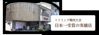 トリミング競技大会 日本一受賞の実績店